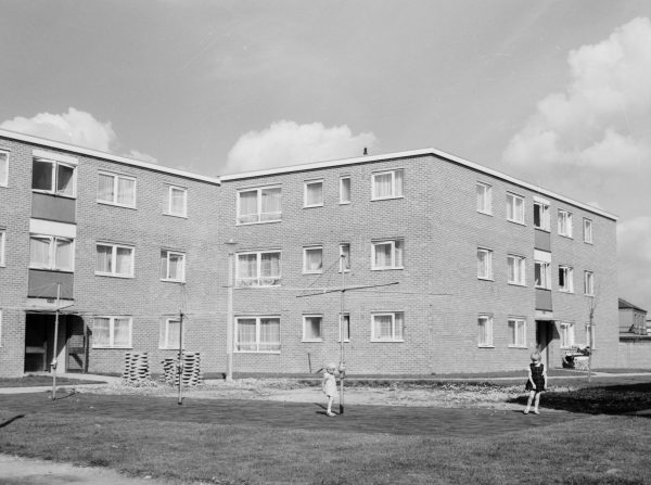 New housing in the Gascoigne area, Barking, 1966