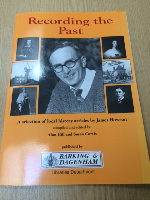 Front cover of Recording the Past articles by James Howson