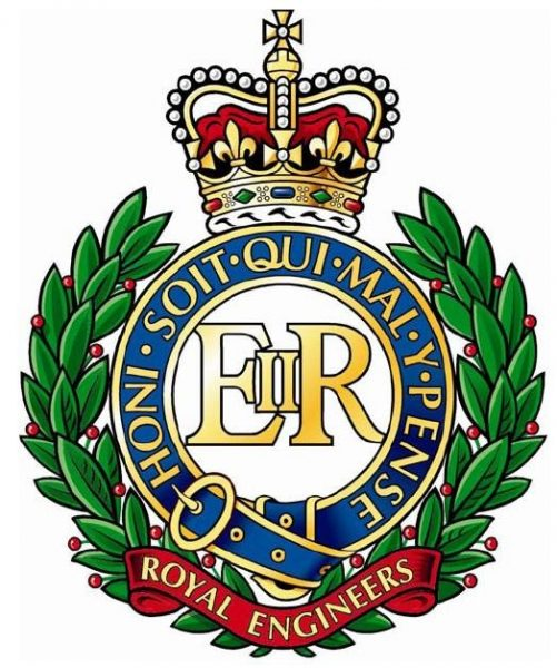 badge of the Royal Engineers